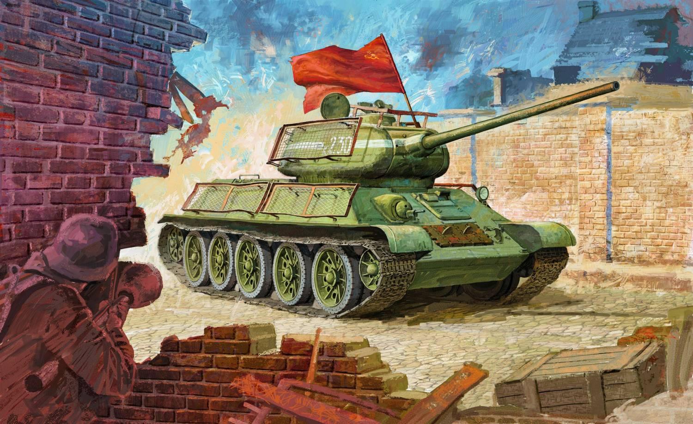 Танки  картинки фото обои русские танки и немецкие